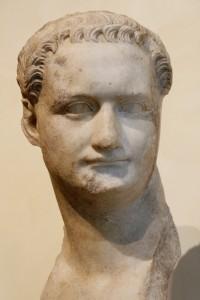 БЛюст императора Домициана из музея на Капитолийском холме.